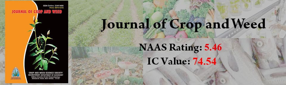 Journal of Crop and Weed